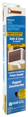 Window Air Conditioner Support Bracket, Up to 160 lbs.