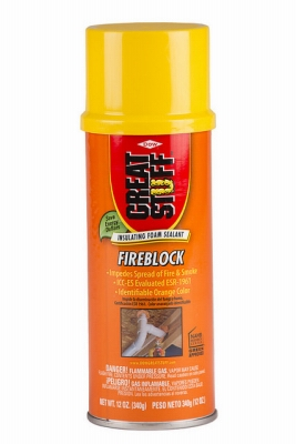 Fireblock Insulating Foam Sealant, 12-oz.