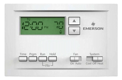 Thermostat, 5-1-1 Programmable, Single Stage