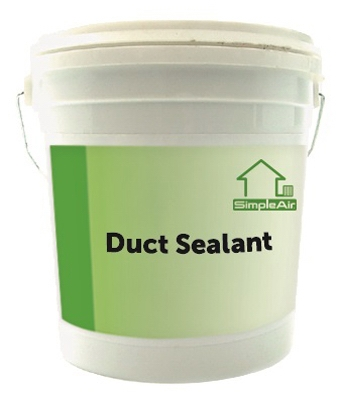 Duct Sealant, 1-Gal.