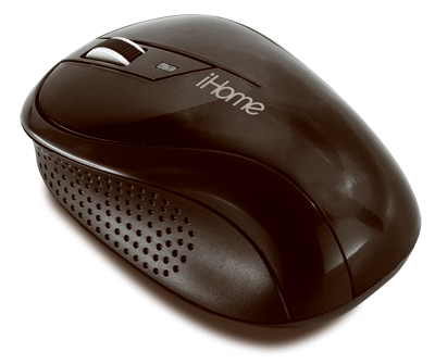 Ergonomic Wireless Desktop Mouse, Black