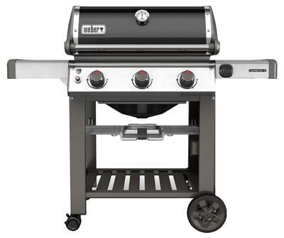 Genesis II E-310 3-Burner Natural Gas Grill, 37,500-BTU, Black