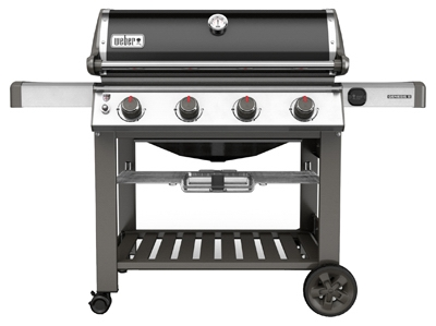 Genesis II SE-410 Premium 4-Burner Natural Gas Grill, 48,000-BTU, Black