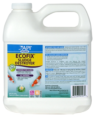 Ecofix Bacterial Pond Clarifier, 64-oz.