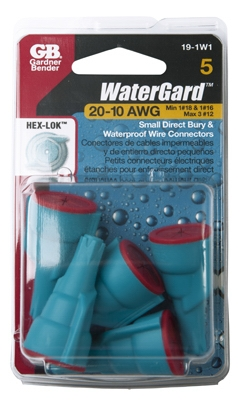 WaterGard Wire Connector, Small, 5-Pk.