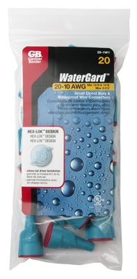 WaterGard Wire Connector, 20-Pk.
