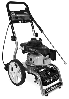 Pressure Washer, 3,000 PSI, 187cc Honda Engine