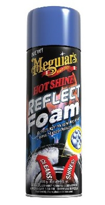 Hot Shine Reflect Tire Foam Aerosol, 15-oz.