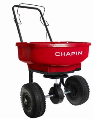 Turf Spreader, 80-Lb. Capacity