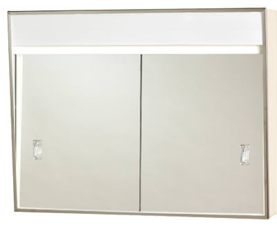 Medicine Cabinet, Sliding-Door,  Built-In Light