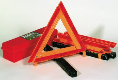 Warning Triangles, 3-Pk.