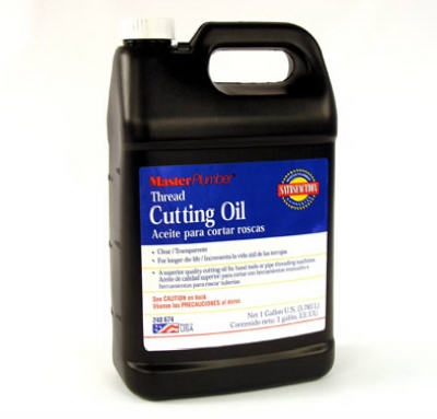 Thread Cutting Oil, Clear, Gallon