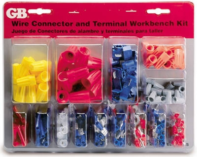 247-Piece Solderless Terminal & Wire Connector Kit