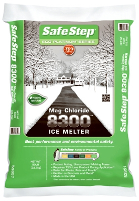 Ice Melt, 8300 Mag Chloride, 50-Lbs.