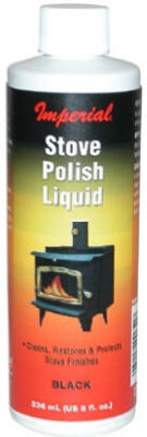 8-oz. Black Stove Polish