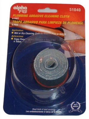 1-1/3-Inch x 6-Ft. 120-Grit Solder Abrasive Cloth