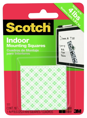 16-Pack Heavy-Duty Mounting Squares