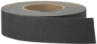 3M Safety Anti-Slip Tread, Heavy Duty, Black, 2-In. x 60-Ft. Roll