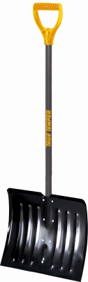 Artic Blast 18-Inch Steel Snow Shovel With D-Grip Handle