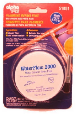 Water-Soluble Plumbing Solder Flux