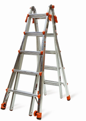 22' Articulating Type 1A 300 Lbs Rated Ladder