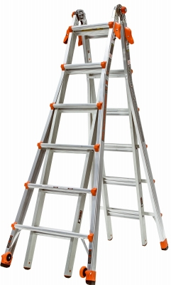 26' Articulating Type 1A 300 Lbs Rated Ladder