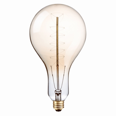 Vintage Oversized Light Bulb, PS42, 100-Watt,