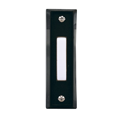 Wired Push Button, Black