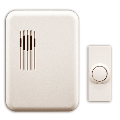 Wireless Doorbell Kit, White