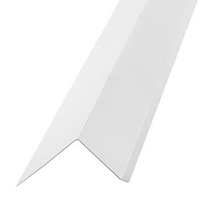 Roof Edge 2 In. x 3 In. x 10 Ft. White