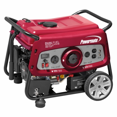 Powermate Portable Generator, 3500-Watts