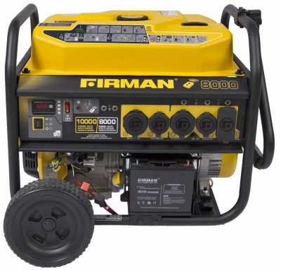 7125/10000W Remote Start Portable Generator, 12 Hour Run Time