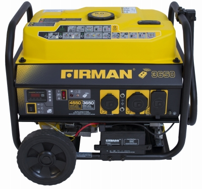 3650/4550W Remote Start Portable Generator, 14 Hour Run Time