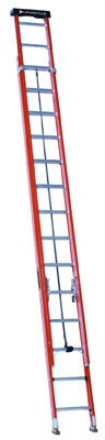 28-Ft. Extension Ladder, Fiberglass, Type 1A, 300-Lb. Load Capacity