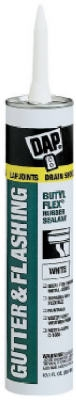 Gutter/Flashing Sealant, White, 10.1-oz.