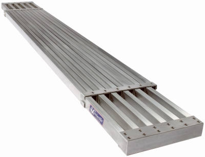 8-Ft. To 13-Ft. Aluminum Expanding Plank Ladder 250-Lb. Duty Rating