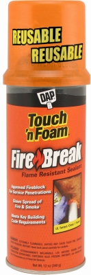 12-oz. Touch 'N Foam Firebreak Flame Resistant Sealant