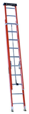 20-Ft. Extension Ladder, Fiberglass, Type 1A, 300-Lb. Load Capacity