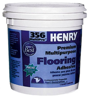 356 Multi-Purpose Flooring Adhesive, 1-Qt.