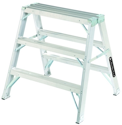Sawhorse Step Ladder, 3-Ft.