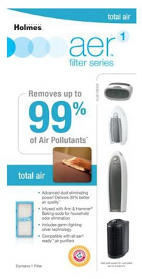 Aer Total Air With Dust Eliminator Filter