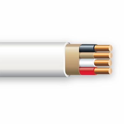 100-Ft. 14/3 Non-Metallic Sheathed Electrical Cable With Ground