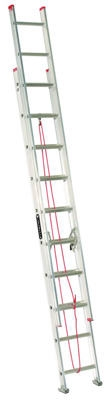 20-Ft. Extension Ladder, Aluminum, Type III, 200 -Lb. Duty Rating