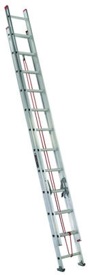 28-Ft. Extension Ladder, Aluminum, Type III, 200-Lb. Duty Rating
