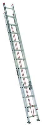 24-Ft. Extension Ladder, Aluminum, Type III, 200-Lb. Duty Rating