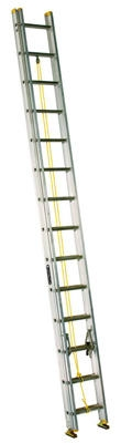 20-Ft. Extension Ladder, Aluminum, Type I, 250-Lb. Duty Rating