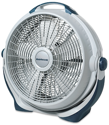 Wind Machine Fan, 360-Degree Rotation, 20-In.