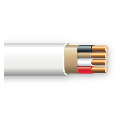 Non-Metallic Sheathed Cable With Ground, Copper, 14/3, 250-Ft.