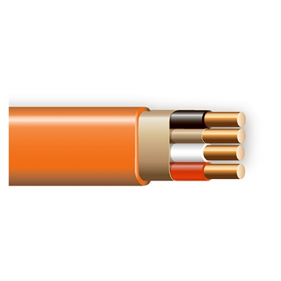 Non-Metallic Sheathed Cable With Ground, Copper, 10/3, 250-Ft.