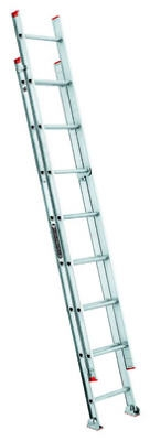 16-Ft. Extension Ladder, Aluminum, Type III, 200-Lb. Duty Rating